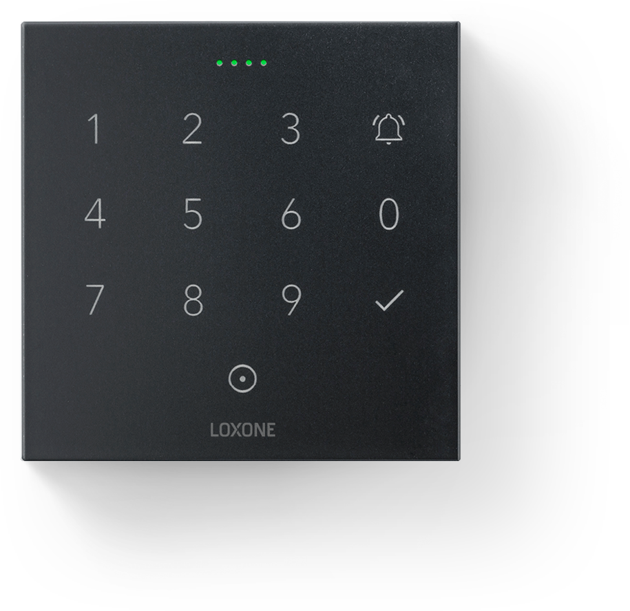 Loxone NFC Code touch - anthracite